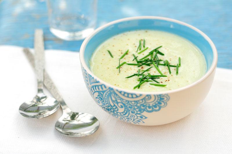 Crema di zucchine e patate