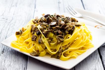 Fantasia di tagliatelle e funghi: ricetta