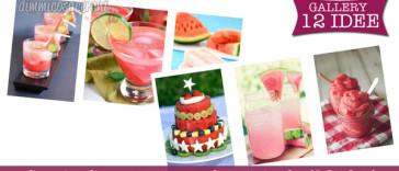 Servire l'anguria in modo originale (12 idee)