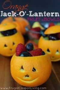 Frutta mostruosa per Halloween