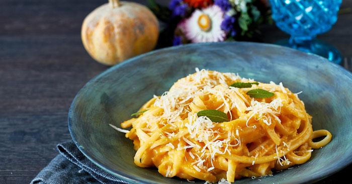 Ricetta pasta con zucca