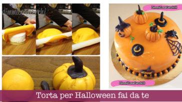 Torta per Halloween fai da te