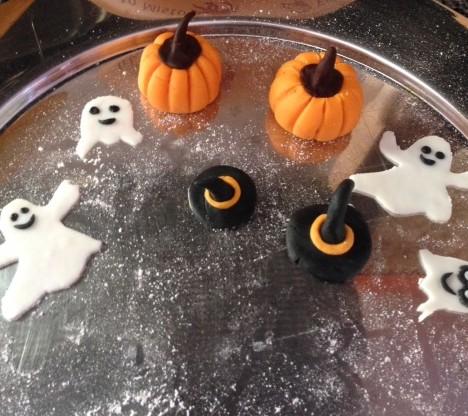 decorazioni torta halloween