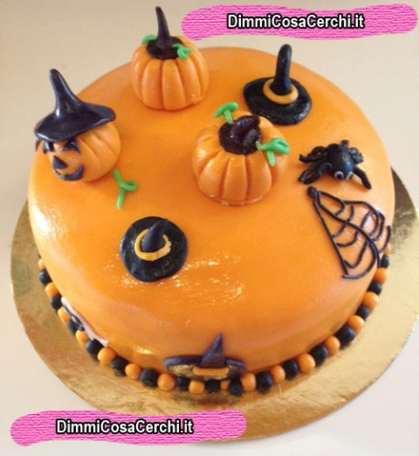 torta di halloween tutorial