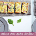 Torta salata con pasta sfoglia salata