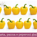 Ricetta pasta, panna e peperoni