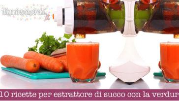 10 ricette per estrattore di succo con la verdura
