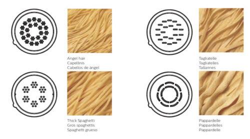 A cosa servono le trafile pasta Maker Philips